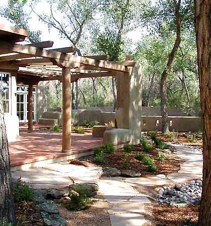 East garden for Southwest pergola