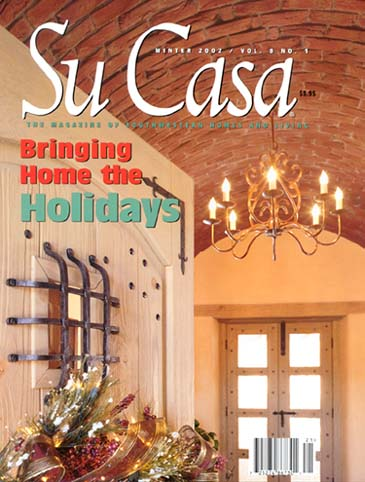 Su casa magazine feature for Casa magazine
